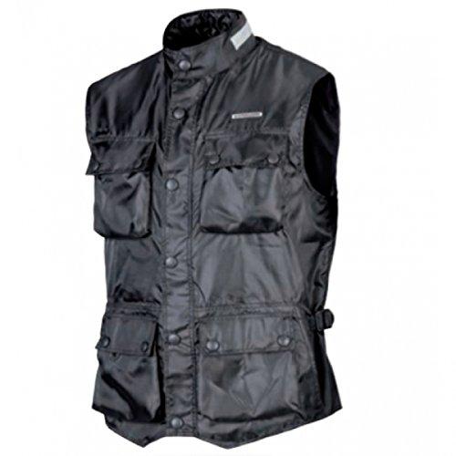 Kappa Vest Zefiro Unisex Waterdicht met zakken M Zwart