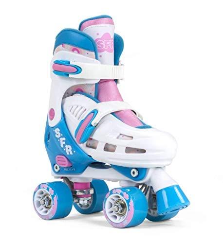SFR Skates SFR Storm III Verstellbare Größe für Erwachsene, Unisex, Mehrfarbig, 35,5/39,5