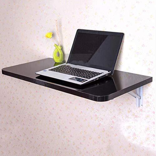 TLMYDD Mesa Plegable de Pared Mesa de Trabajo portátil portátil con Hojas abatibles Estación de Trabajo Mesas a Base de Madera, 4 Colores, 3 tamaños Mesa (Color : D, Size : 60x35CM)