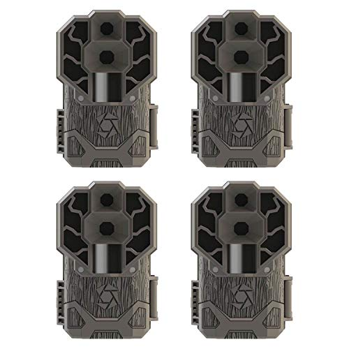 Stealth Cam 30MP High Res 4K HD No Glo IR Game Trail Camera, 4 Pack | STC-DS4K