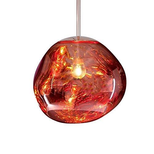 GaLon hanglamp, kroonluchter van gietijzer, onregelmatig wassen, hanglamp, woonkamer, slaapkamer, restaurant huis voor D20 / 30 cm, modern, goudkleurig, zilverkleurig, plafondspiegel