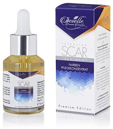 Narben Salbe Creme Serum Gel - Für Gesicht und Körper zur Entfernung von alten und frischen Narben I Hochkonzentrierte Scar Treatment Narbenbehandlung 30 ml. Pipette