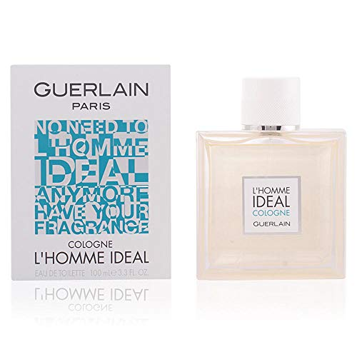 L'Homme By Guerlain Ideal Cologne Eau De Toilette Spray For Men 3.3 oz