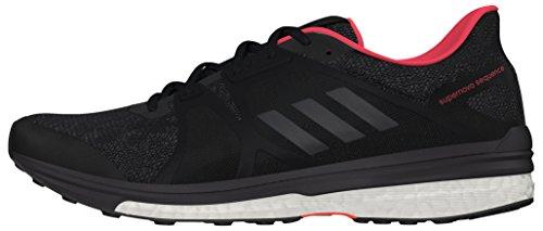 adidas Supernova Sequence 9, Zapatillas de Running Mujer, Negro (Core Black/Night Met/Utility Black), 36 2/3