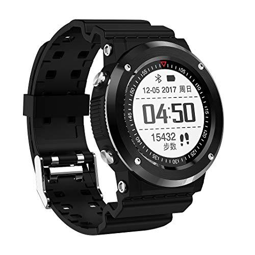 Oolifeng Smartwatch met hartslaghorloge, activiteitstracker met slaapmonitor, stappenteller, IP67 waterdicht, voor heren, dames en kinderen