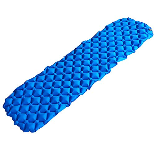 N / C Portable large camping air sleeping pad, better stability support, comfortable ultra-light mattress, with bag, suitable for hiking and outdoor activities