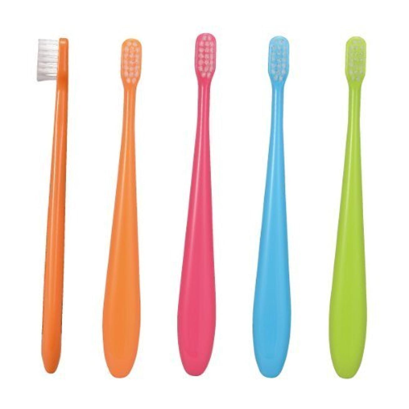 伸ばすと遊ぶではごきげんようCiミニ歯ブラシ/ミディ 50本入り/Mふつう