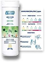 DIP & GO Aquarium Test Strips. Ammonia Test Kit for Aquarium. Range-Guided and Easy-to-Read, Color Corrected Results. Aquarium Test. (Ammonia Test Kit)