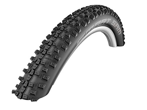 Schwalbe Smart Sam Addix Performance Line, Rigide Pneu de vélo Mixte, Noir, 27.5x2.10/54-584