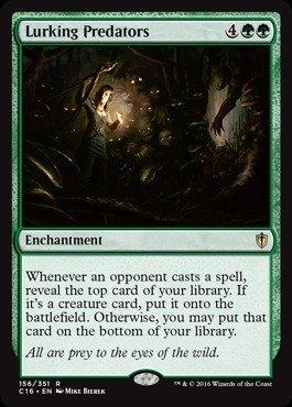 Magic The Gathering - Lurking Predator39;s (156/351) - Commander 2016
