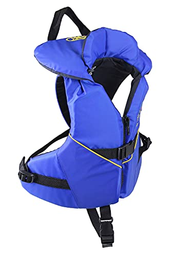 Stohlquist Infant PFD Life Jacket - Blue + Black, 8-30 lbs - Coast Guard Approved Life Vest for Toddlers, Support...