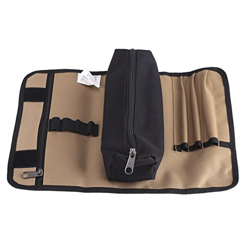 Portable Rolling Hand Tool Bag Holder,600D Oxford Roll Up Pouch Organizer 36cm x 25cm
