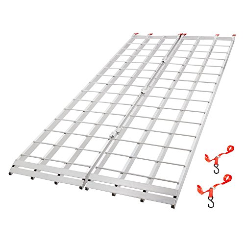 Black Widow Extra-Long Bi-Fold ATV Ramp - 7' 10