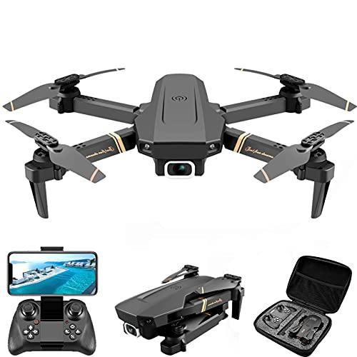 lxymyxl Drone con cámara Dual Gran Angular de 4k HD WiFi FPV Drone, Foto de Gesto, trayectoria, Vuelo, Regreso a casa con una tecla, sígueme, cuadricóptero RC