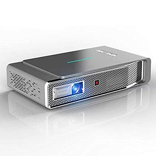 Video Projector, 3D DLP Link Android Smart Projector, 3800 Lumens, Support 1080P Full HD, Wireless Screen Share for iPhone iPad Android