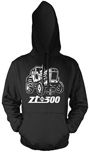Uglyshirt87 Tractor ZT mannen en heren trui met capuchon | 300 oldtimer DDR boer | M1