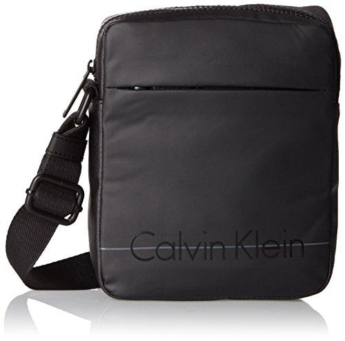 Calvin Klein Logan 2.0 Mini Reporter, Sac Homme, Noir...