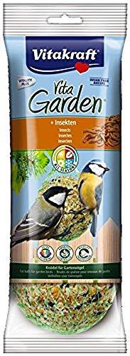 Vitakraft Boules de Graisses Premium Insecte pour Oiseau du Ciel 350 g - Lot de 6