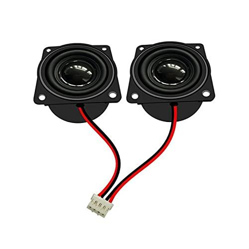 Wnuanjun 2 stücke 40mm Hohlraum Lautsprecher Fahrer 4 Ohm 3W Music Lautsprecher Heimkino Smart Digital PC Computer Lautsprecher