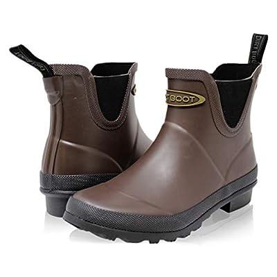 Dirt Boots Neoprene Waterproof Equestrian Slip On Stable Muck Yard Chelsea Boots