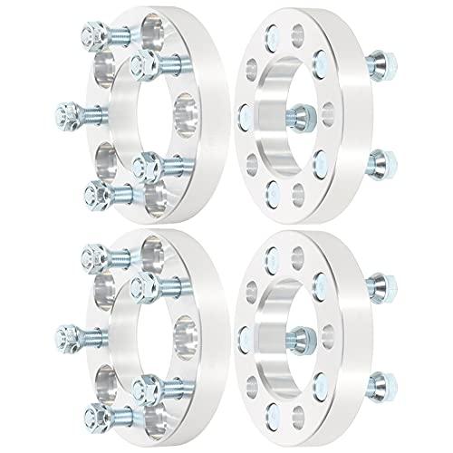 ECCPP 4X 1 inch Wheel Spacer 5x4.5 to 5x4.5 5x114.3mm to 5x114.3mm Wheel Spacers...