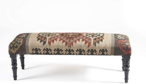 LR Home Southwestern Indoor Bench 3 11 X 1 4 Multi product image