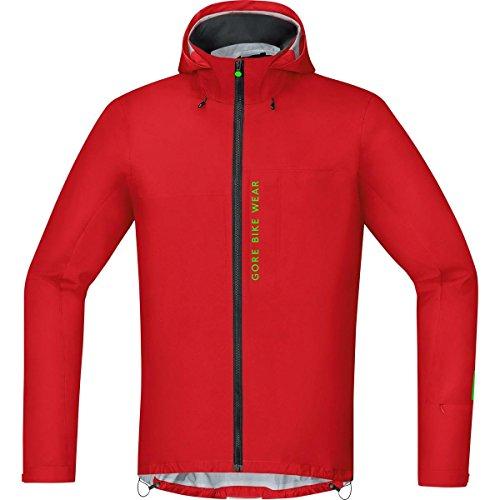 Men´s, Mountain Bike Jacket, Waterproof, Gore-TEX Active, Power Trail GT AS, Size L, Red - Gore Bike Wear JGPOWM