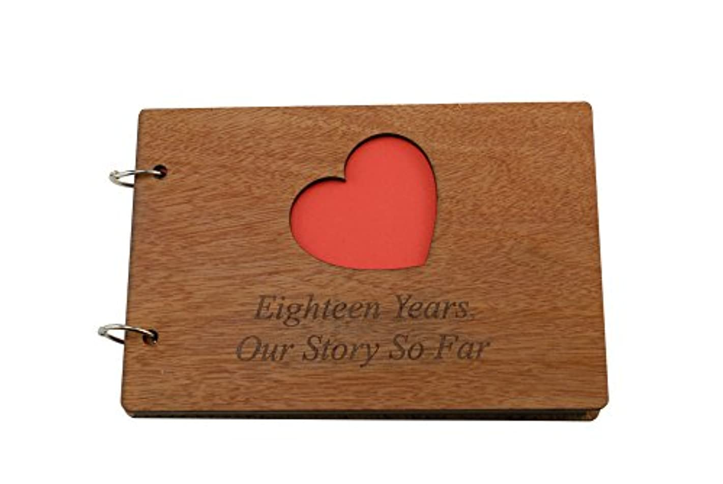 18 Years Our Story So Far - Scrapbook, Photo album or Notebook Idea For 18th Anniversary