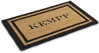 "Kempf Personalized Natural Coco mat 24"" X 48"""