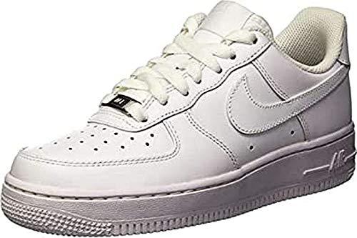 Nike , Chaussures de Gymnastique Femme, Femme, Bianco, 5
