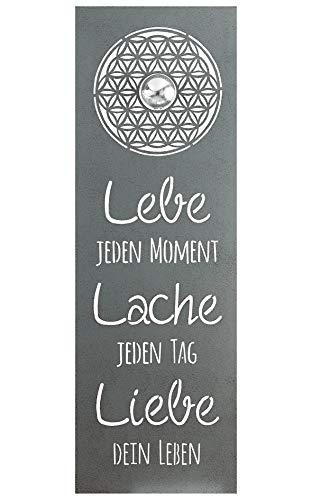 G.i.l.d.e Relief Lebensblume Lebe Lache Liebe Höhe 90 cm