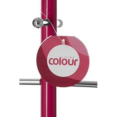 Premier Housewares 6 Cup Mug Tree - Hot Pink