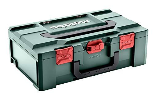 Metabo Werkzeugkoffer leer Metabox 165 L (Koffer aus ABS, ohne Werkzeug, stapelbar, robust und bruchsicher, 496 x 296 x 165 mm, Volumen 16.7 l) 626889000