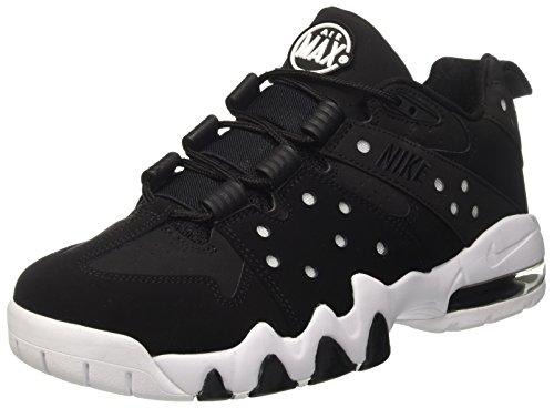 Nike Men's Air Max2 Cb '94 Low Basketball Shoes, Black White Black, 11.5