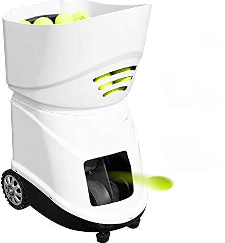 VEVOR Automatische tennisbal, ABS-kunststof met 150 ballen, automatische tennisbal, voor beginners.