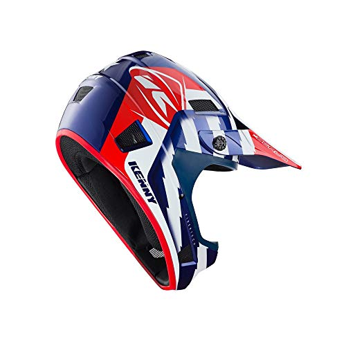 Kenny Casque vélo Scrub Patriot Bleu Blanc Rouge Taille M
