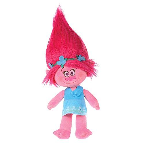 Plüsch-Troll Poppy, aus dem Original Trolls Film, 28cm, weich und kuschelig