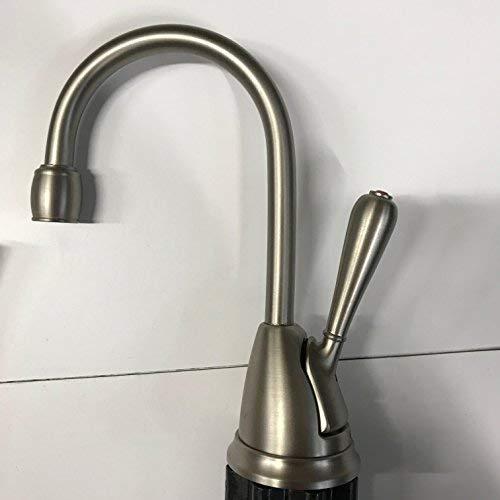 InSinkErator H-View-SN One Handle Hot Water Dispenser Faucet Satin Nickel
