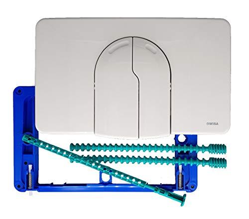 Wisa 2100/2136 DF 2-Mengenspülung Bedienplatte Betätigung Drückerplatte