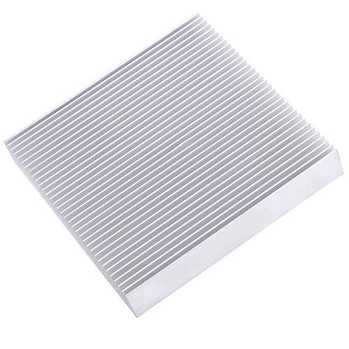 Högeffekt 34 tätt tandade med 4 kylflänsar av aluminium kylfläns, kylfläns, för PCB. förstärkare, nätdel router, CPU, Ic-radiator