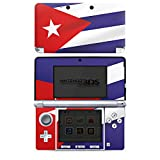 DeinDesign Skin kompatibel mit Nintendo 3 DS Folie Sticker Flagge Kuba Flaggen