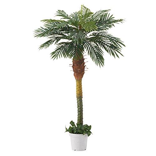 人工観葉植物 デラックスパームツリー(ヤシの木)立ち木 (H180cm) 1台 人工樹木 フェイクグリーン 造花 大型サイズ