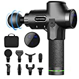 Massage Gun Deep Tissue,30 Speeds Powerful Percussion Muscle Massager,2500mah Electric Handheld Muscle Massage Gun,Portable Fascia Gun with 8 Massager Heads for Athletes Muscle Tension Pain Relief - Best Reviews Guide