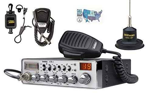 Uniden PC78LTX Radio and Accessory Bundle - 5 Items - Includes Uniden PC78LTX 40 Channel CB Radio, Wilson Mag Mount Antenna, Astatic Hand Mic with Gear Keeper and Ham Guides TM Quick Reference Card. Buy it now for 245.35