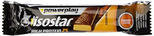 Isostar Powerplay High Protein 25 Joghurt und Frucht Riegel, 15er Pack (15 x 35 g)