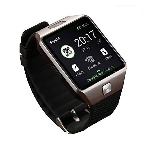 DFEDCLL Fitness-Tracker, QW09 Smartwatch, WiFi-Version dz09 3G Internet WiFiAPP, Android-System 4.4 herunterladen,1