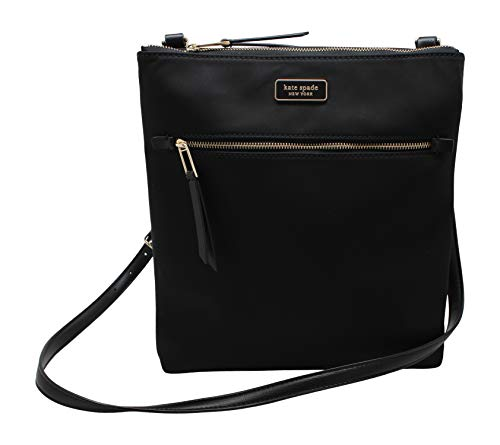 Kate Spade New York Jae Nylon Flat Crossbody Bag with Front Zip Pocket Interior Features Custom Kate Spade Nylon Signature Lining, 1 Zip Pocket, and 1 Slip Pocket Adjustable Shoulder Strap Drop Approx. 21-24 inches Approximate Dimensions: 9.5 in (L) ...