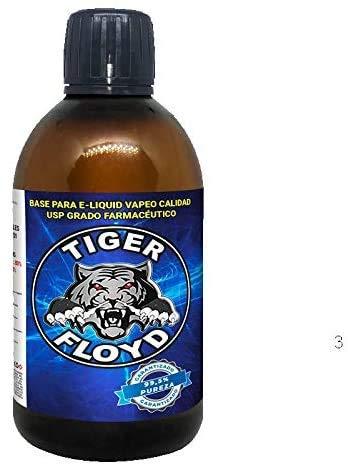 Base - 100% GLICERINA VEGETAL (VG) | 1000 ML | Marca: Tiger Floyd | Sin Nicotina: 0MG | Calidad USP - Grado Farmacéutico - alquimia Pureza Certificada | Puzera 99%