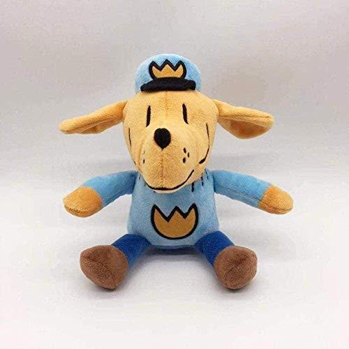 Siamrose El Hombre Animado Perro de la Historieta de la Felpa de la muñeca del Hombre Lindo Perro de Peluche muñeca Figura niños del bebé de los niños s 25cm LTLNB