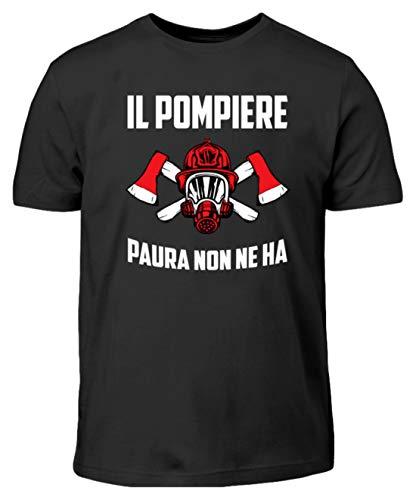 EBENBLATT Il Pompiere Paura Non ne ha Uomo Donna Vigile del Fuoco Costume Regalo - T-Shirt per Bambini -9/11 (134/146)-